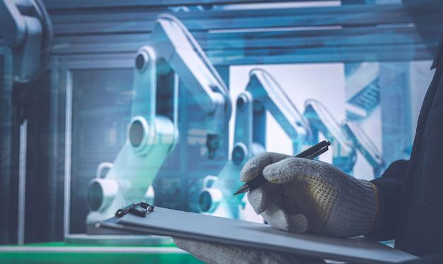 産業用ロボットおよび周辺装置